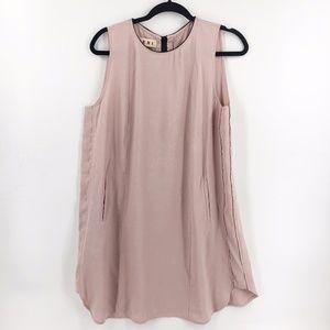 Marni Pink Dress with Black Trim